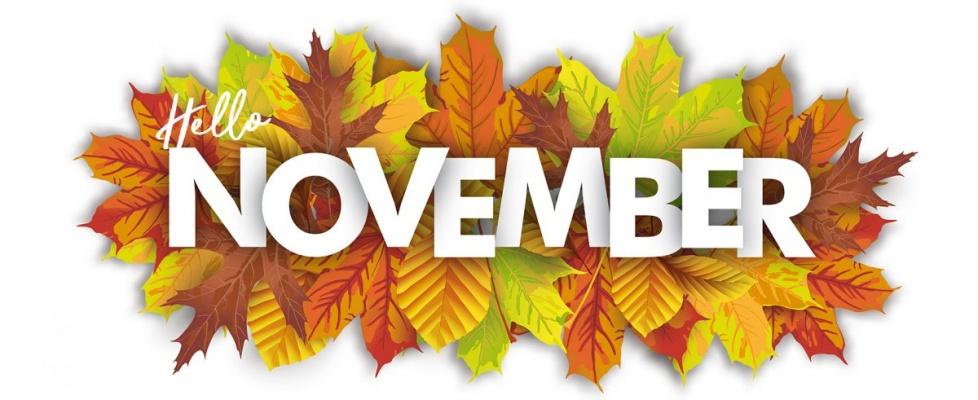 November: A short update