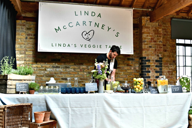 STUDIO EVENTS: Linda McCartney's Veggie Table