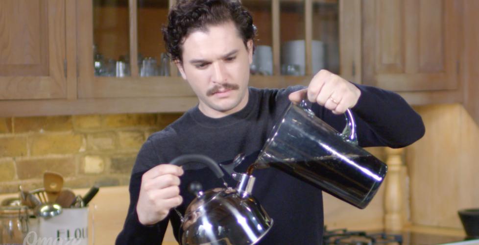 Kit Harington's Omaze-ing Opportuni-tea
